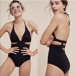 Seafolly Active Halter One Piece Swimsuit